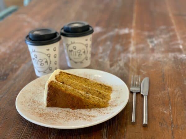 Tarta Zanahoria Miga Bakery