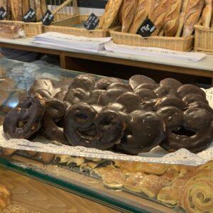 Minipalmeras de Chocolate Miga Bakery