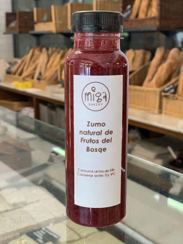 Zumo de Frutos del Bosque Miga Bakery